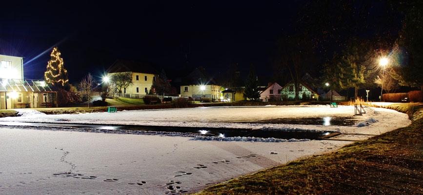 Sankt Lambrecht bei Nacht, Austria