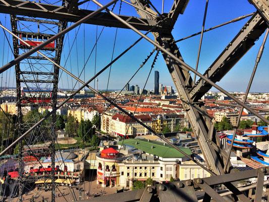 Aussicht vom Wiener Riesenrad