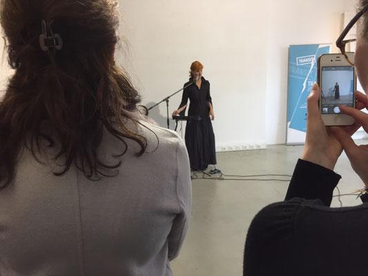 Dritter PERFORMANCEDAY 2017, Wiesbaden / Performance: Silva Sauer ≠ Blind Date