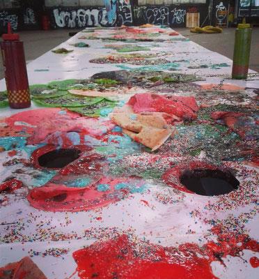 Enora Lalet – VI PERFORMANCE DAY im OstStern Frankfurt – IO Cultural Network