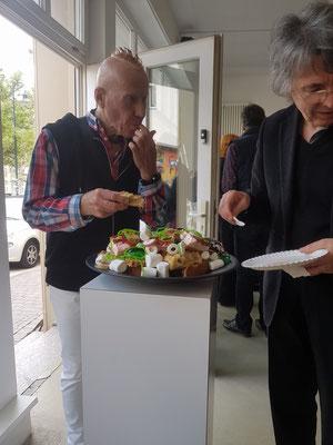Dritter PERFORMANCEDAY 2017, Wiesbaden / Christine Straszewski ≠ Higgsteddy Cake mit Gästen 2017