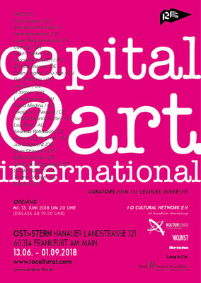 Capital@Art. International. Plakat.