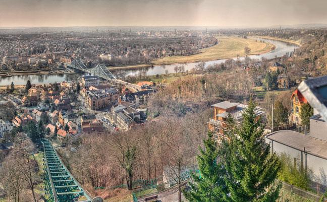 Dresden Loschwitz - Blaues Wunder