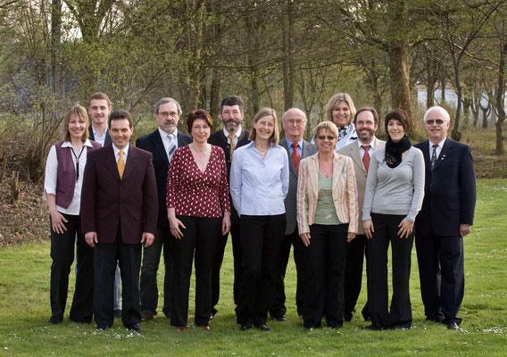 Musikverein Helmsheim Vorstandschaft 2008