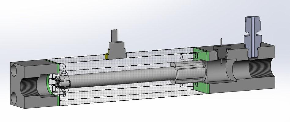 Machbarkeitsstudie für Lufterhitzer - Entwurf 2 von 3