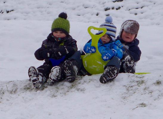 Der Schnee ist da - juhee!