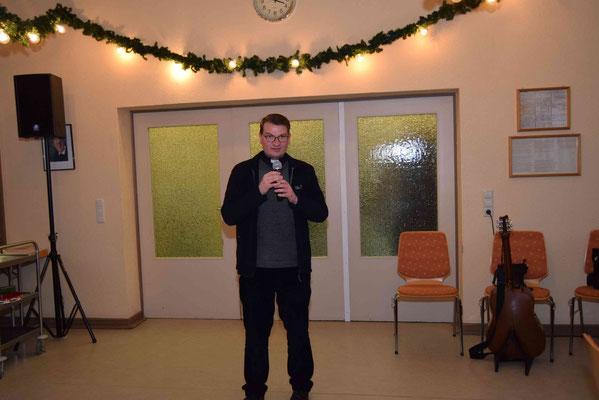 Ansprache Pfarrer Gerd Kraus
