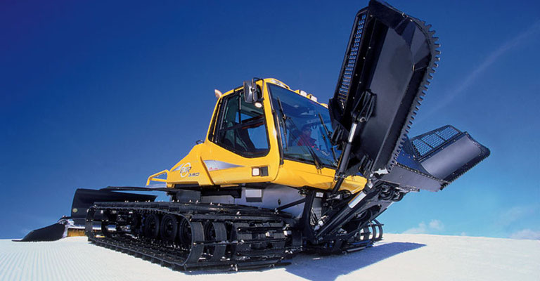 Prinoth BR 350 snow grooming vehicle will deliver more corduroy in 2017-2018.