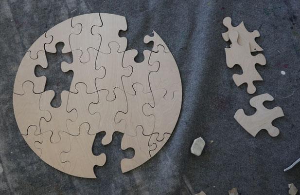 Puzzle zur eigenen Gestaltung