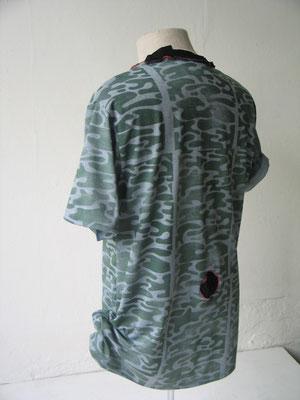 """T-Shirt Modell """"after war"""", Rückansicht"""