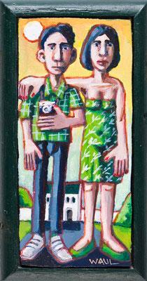 Touristen (Acryl)