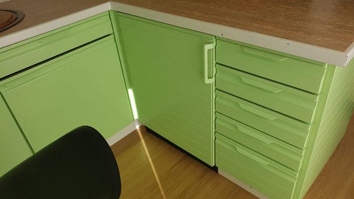 Neue Farbgebung bestehende Küchenkombination