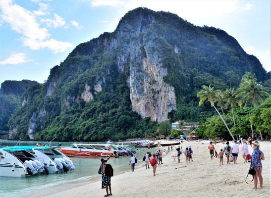 Ankunft auf Phi Phi Don