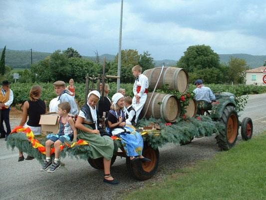 Montfort sur Argens - Fête des Vendanges - Le Gîte des Templiers