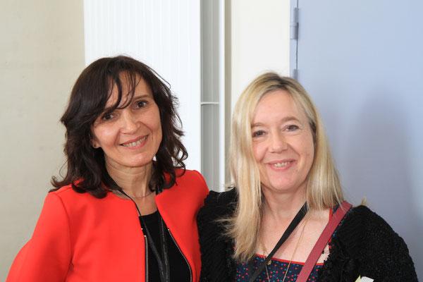 Avec Angélique Barberat