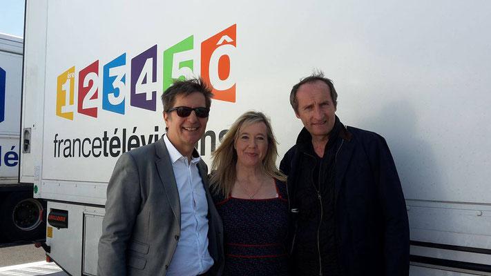 Avec Jean-Jacques Lester et Christophe Guyomard, 2016, le Croisic