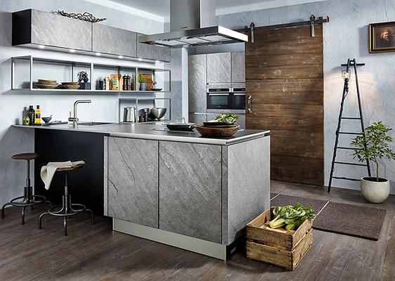 Häcker Küchen Neuheiten 2018 AV 7030 Silver Star
