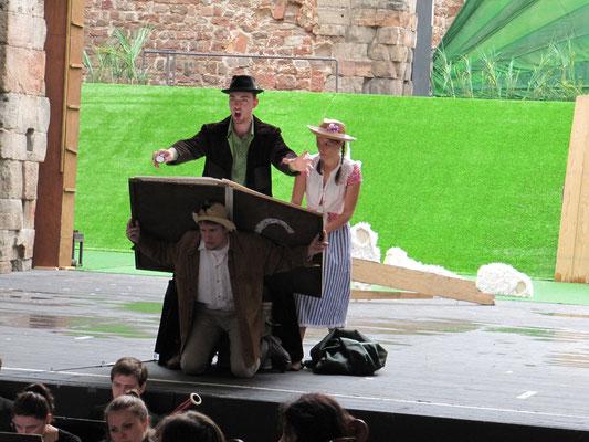 Als Colas in Bastien und Bastienne, Opernfestspiele Bad Hersfeld, (c) Vera Fabig-Wilhelmi