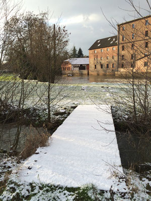 Kinzig / Rückinger Wehr / Januar 2016