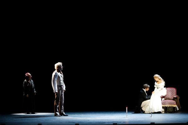 mit Christian Alexander Müller, Alen Hodzovic und Barbara Obermeier ©Palffy