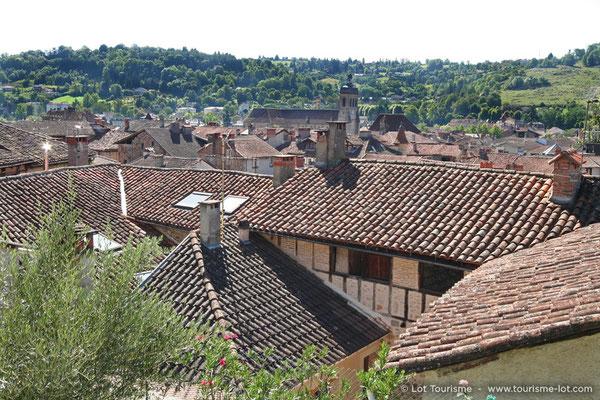 Toits de Figeac | Lot Tourisme - OT Figeac/P. Letraublon