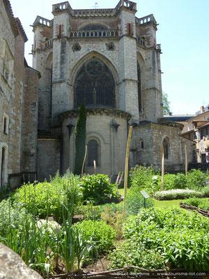 Jardin secret Cathédrale Cahors © Lot Tourisme - S. Laparra