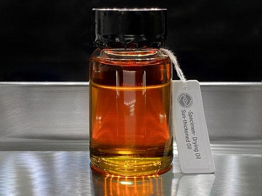 CTec Labで作成したサンシックンドポピーオイル(加熱処理品)
