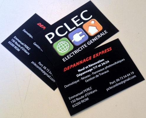 Cartes De Visite Pour Lentreprise PCLEC