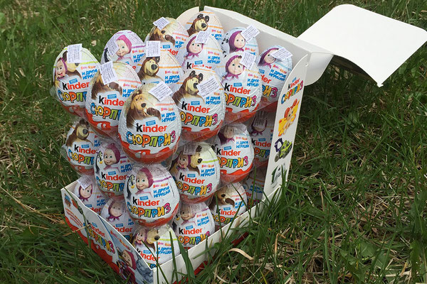 Шоколадные яйца на Пасху