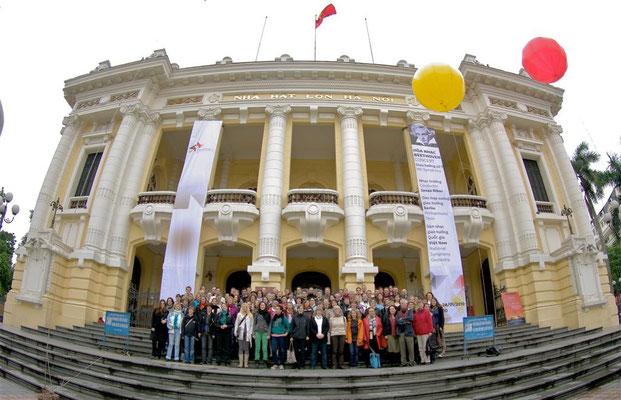 Konzertreise Vietnam Hanoi 2010