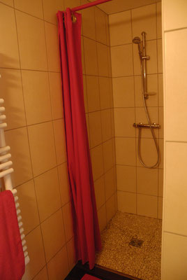 douche de la chambre bleuet