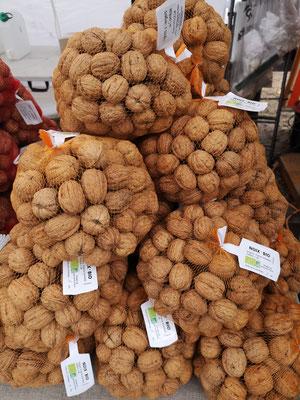 noix bio, en filet de 1kg et 2.5kg