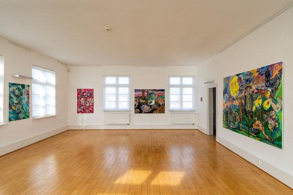 Städtische Galerie Ehingen, März 2019 (Foto: Herbert Geiger)