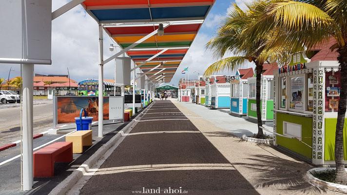 Aruba Oranjestad Cruise Terminal Ausgang