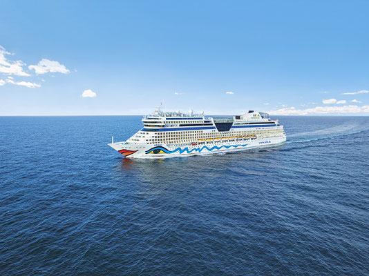 Erfolgreicher Neustart von AIDA Cruises: Leinen los für AIDAblu