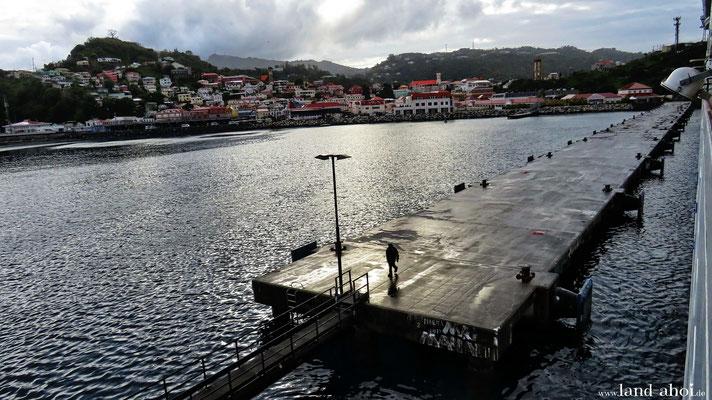 Grenada Anleger für Kreuzfahrtschiffe