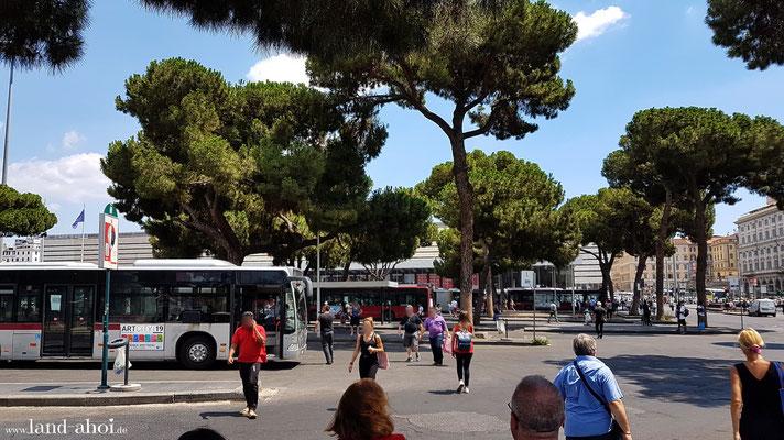 Busbahnhof am Roma Termini