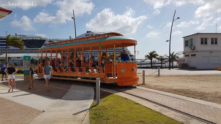 Aruba Oranjestad Straßenbahn