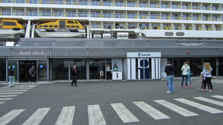 A Coruna Cruise Terminal