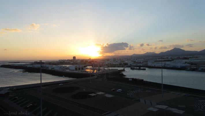 Arrecife Kreuzfahrt Hafen