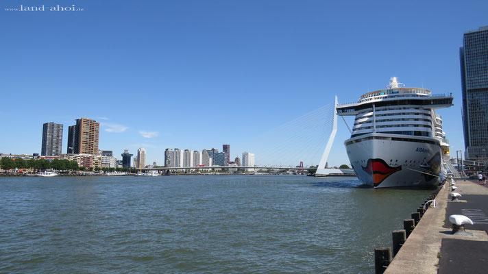 Rotterdam Hafen Liegeplatz