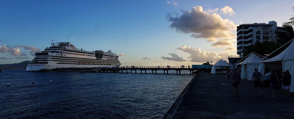 Liegeplatz Pointe Simon Cruise Terminal