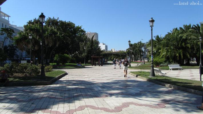 Cádiz Hafennähe