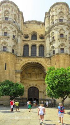 Malaga Cathedral Entrance