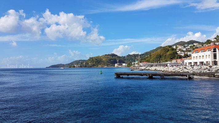 Grenada am Liegeplatz
