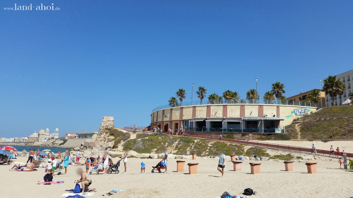 Cádiz Strand Playa de Santa María del Mar