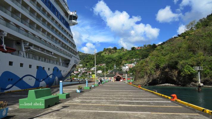Anleger für Kreuzfahrtschiffe
