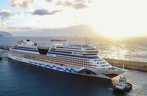 AIDA Cruises spendet an die Tafeln