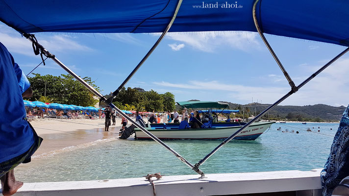 Grenada Grand Anse Beach Wassertaxi