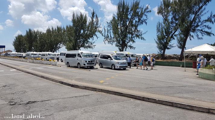 Barbados Cruise Terminal Taxistand